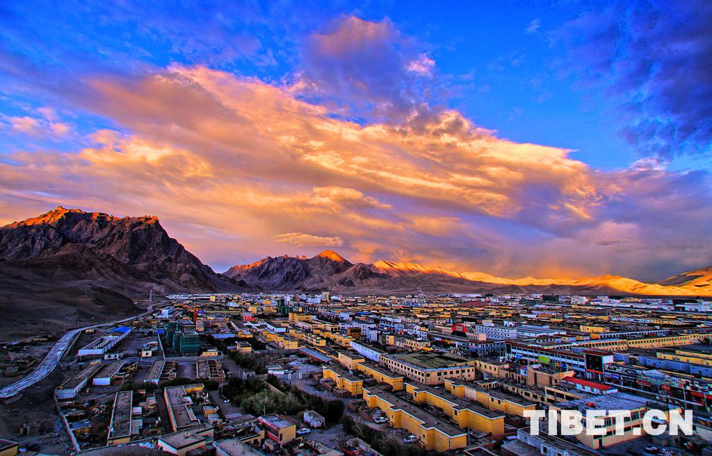 031-091-017-西藏-刘安康-《狮泉河夕照》.jpg